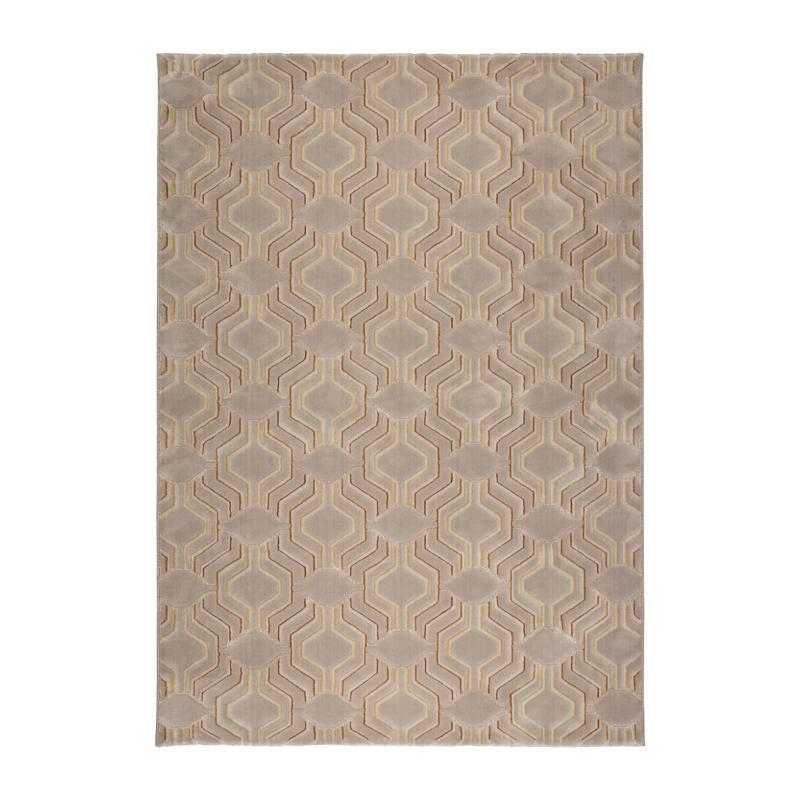 Machine geweven tapijt met reliefpatroon