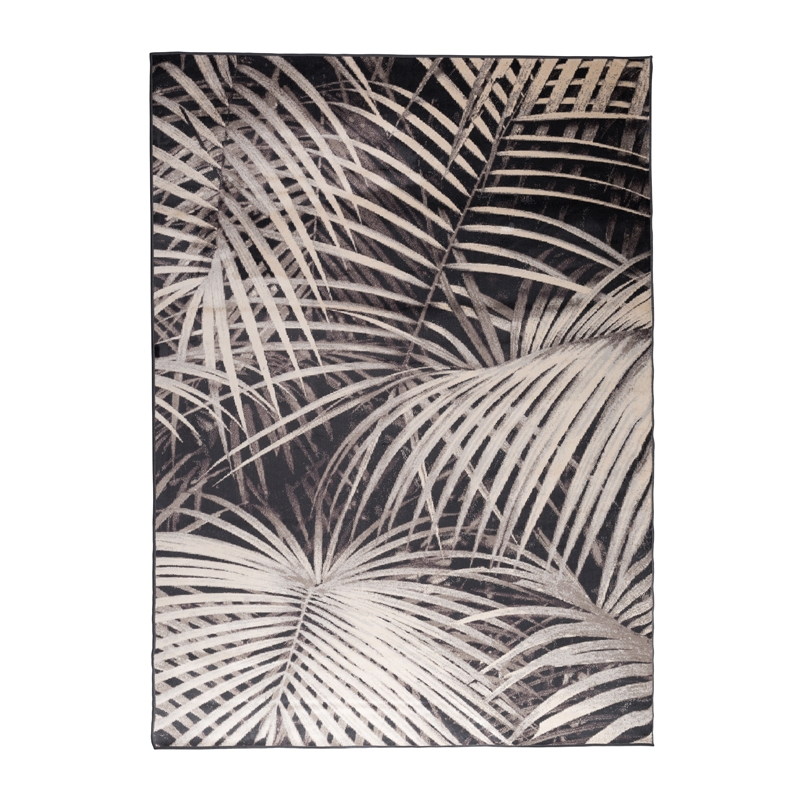 Tapijt met palmboompatroon