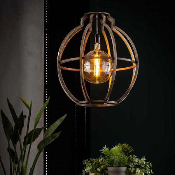 Vintage hanglamp van ijzer