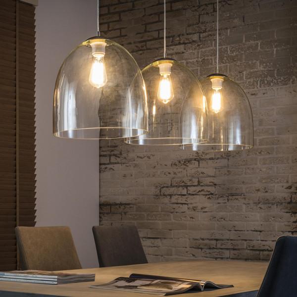 Hanglamp glas 3L