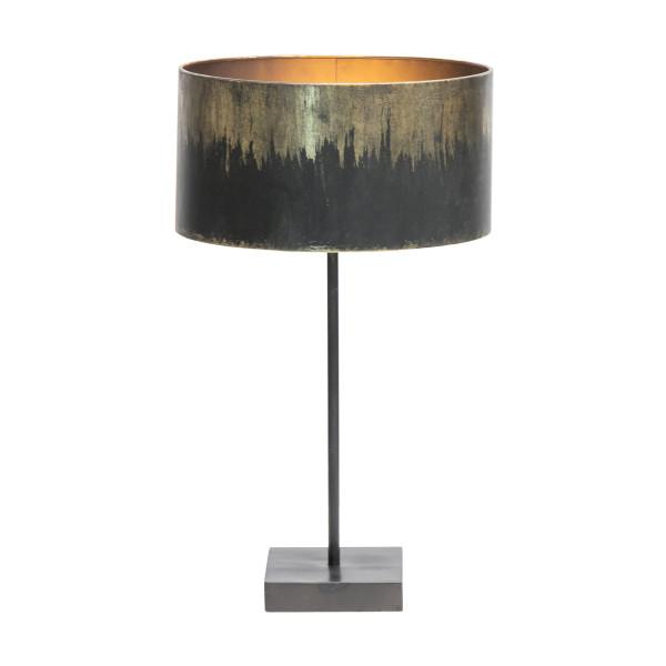 Stoere tafellamp van metaal