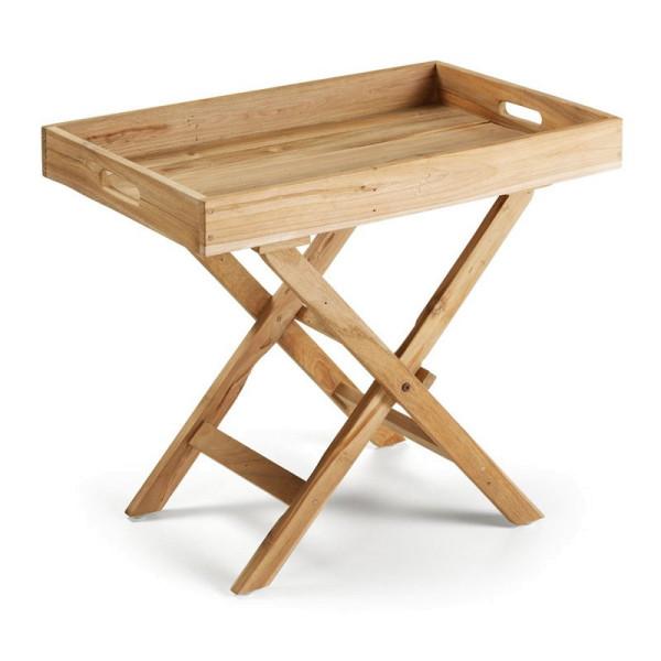 Klaptafel van teak hout