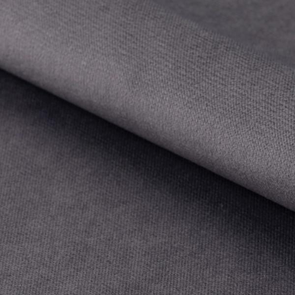Stofstaal grijs fluweel