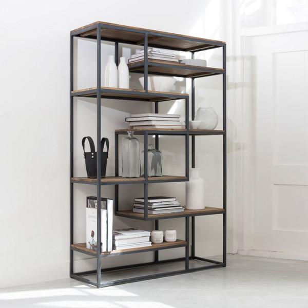 Open boekenkast van hout LAATSTE WINKEL-EXEMPLAAR