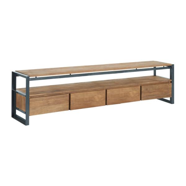 Tv-meubel met vier lades