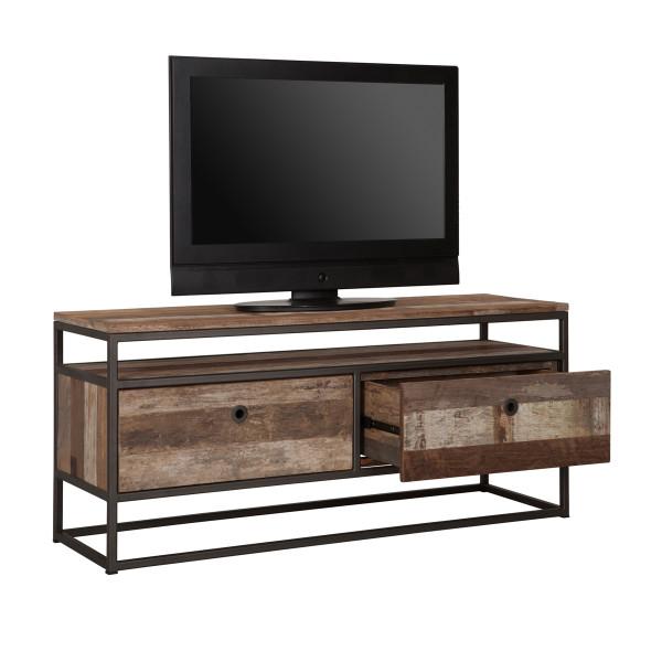 Tv-meubel hout met metaal