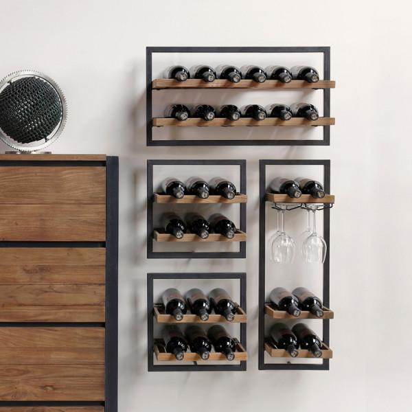 4-delig wijnrek 65x115cm