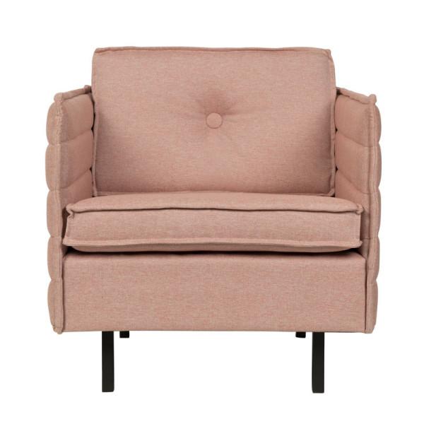Design stoffen fauteuil