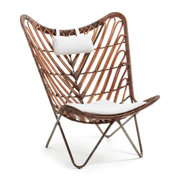 Design fauteuil van rotan
