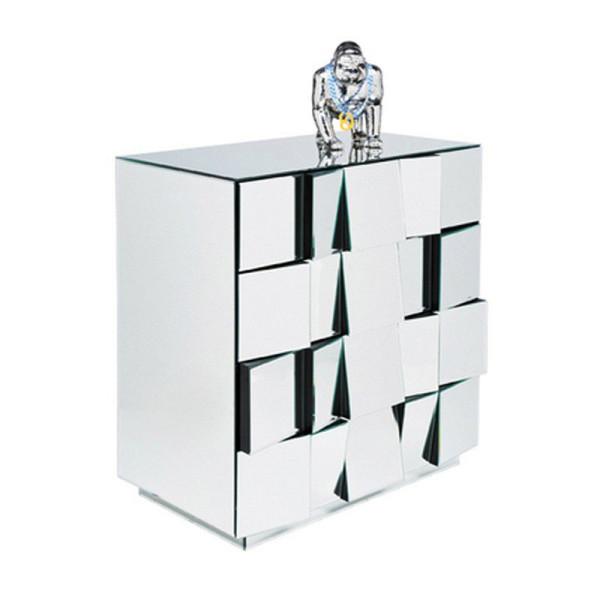 Design ladekast spiegel 4D