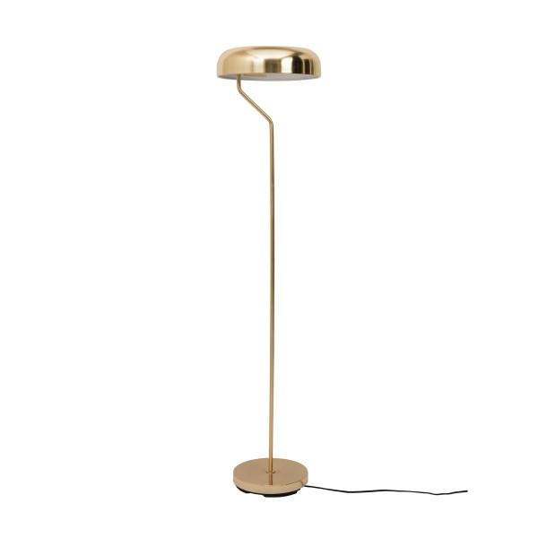 Metalen vloerlamp