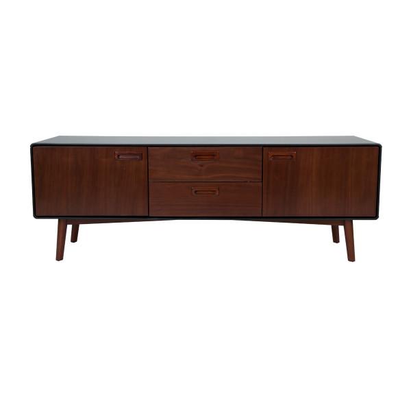 Bruin houten tv-meubel