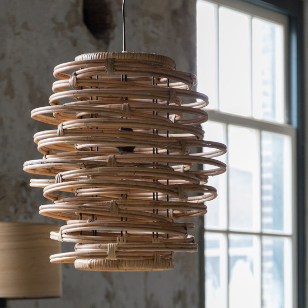 Kubu rotan hanglamp