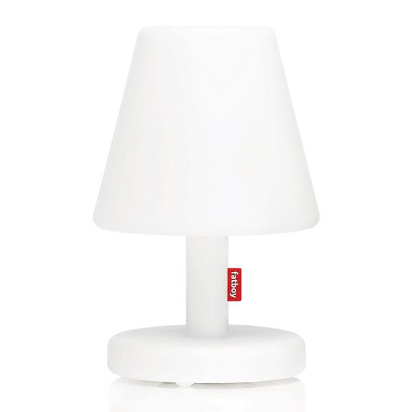Grote eigentijdse tafellamp wit