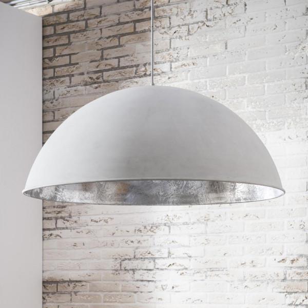 Grote hanglamp beton-look