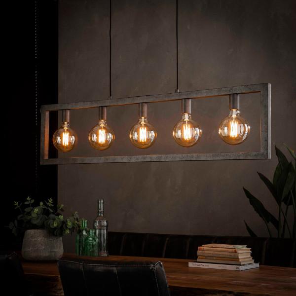 Hanglamp met rechthoekig frame