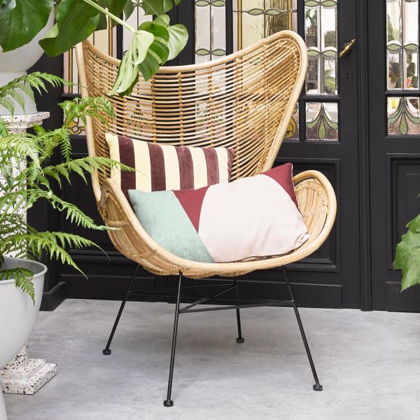 Rotan Egg stoel fauteuil