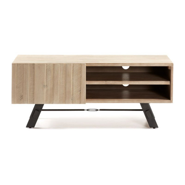 Tv-meubel van acaciahout 120 cm