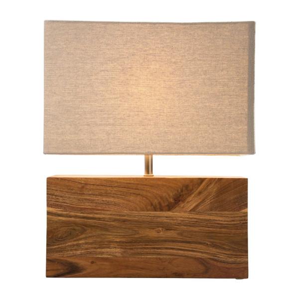 Houten lampje