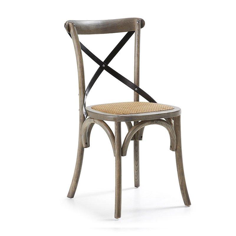 Landelijke houten stoel