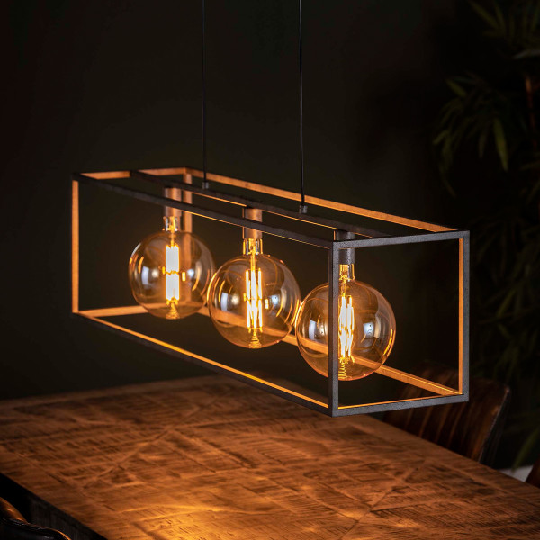 Industriële hanglamp 3-lamps