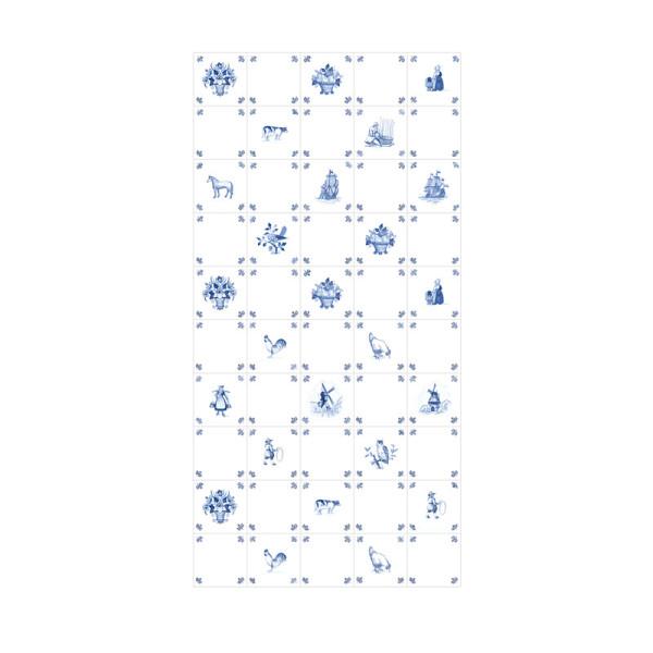Delfts Blauwe Zitzak.Ixxi Royal Delft Wanddecoratie Delfts Blauwe Print Lumz