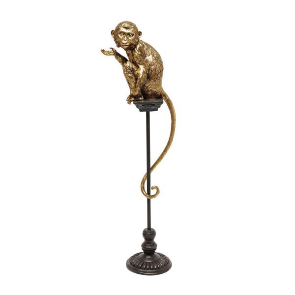 Gouden beeld aap