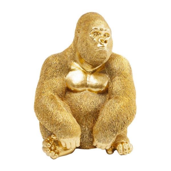 Gorillabeeld goud