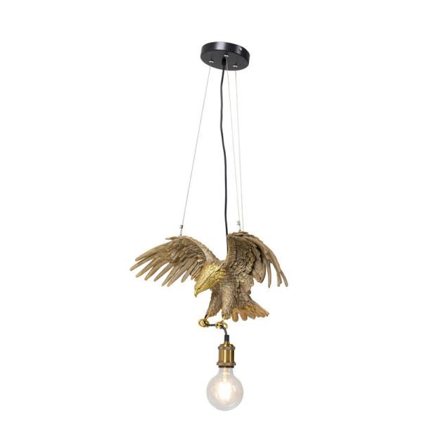 Gouden adelaar hanglamp