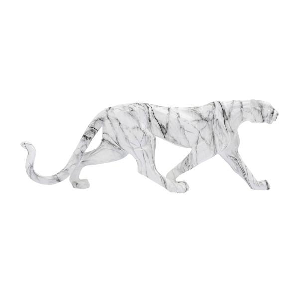 Marmeren luipaard beeld