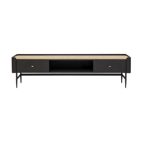 Zwart design tv-meubel