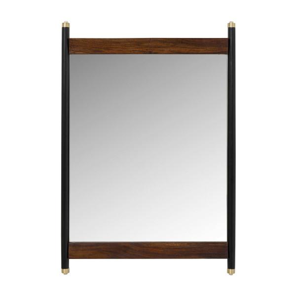 Spiegel van sheeshamhout 80 cm