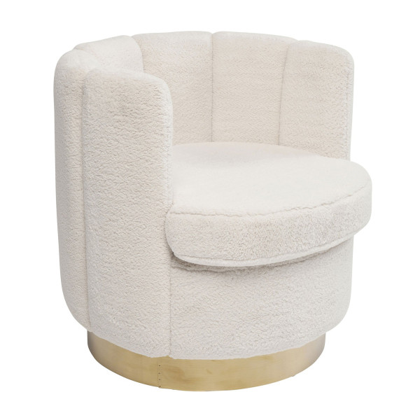 Teddy fauteuil wit