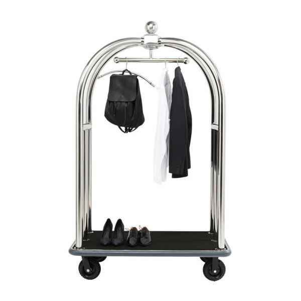 Bagage trolley zilver