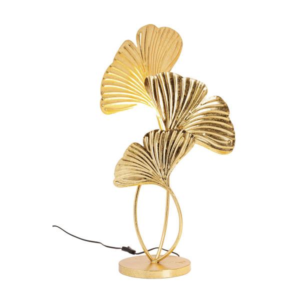 Gouden tafellamp ginkgo