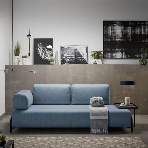 Design 3-zits bank met tafeltje