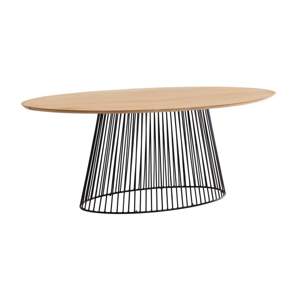 Ovale eettafel modern design