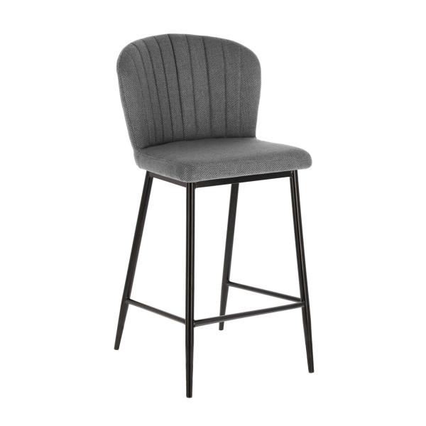 Barstoel met gestreepte rug