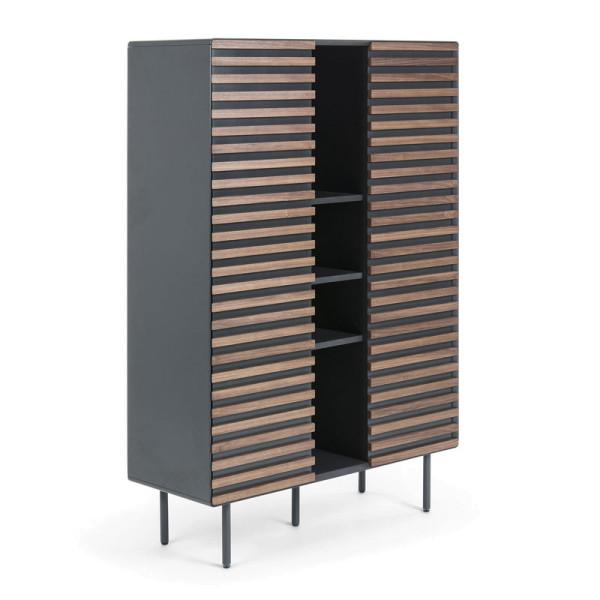 Welp Kave Home Kesia (Mahon) | Mat grijze kast met hout | MH007L02 | LUMZ MT-26