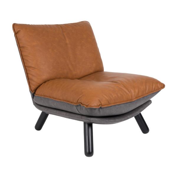 Lounge stoel kunstleer