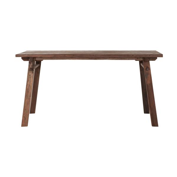 Eettafel van gerecycled hout