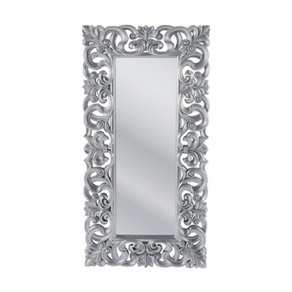 Zilveren spiegel barokstijl
