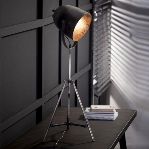 Tafellampje op statief