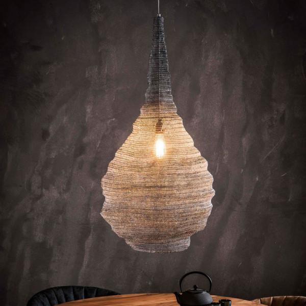 Hanglamp van metaalgaas