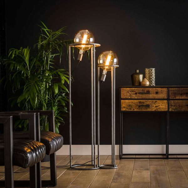 Set van 2 vloerlampen voor kooldraad lamp