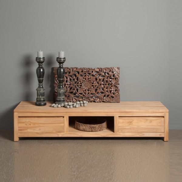 TV meubel laag model - 2 lades - 180cm