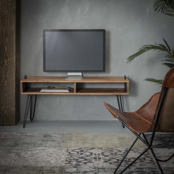 Tv-meubel van massief acaciahout