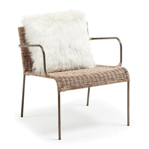 Vintage stoel rotan