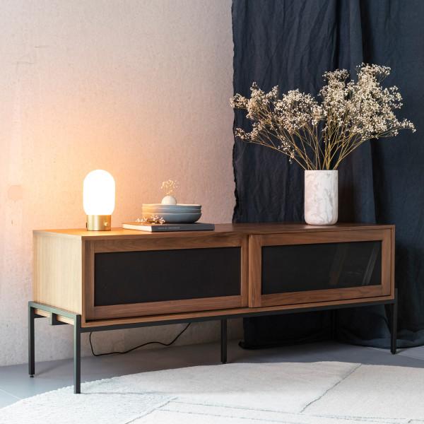 Modern tv-meubel met schuifdeuren