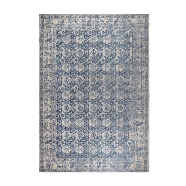 Machine geweven tapijt in spijkerstof kleur